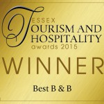 Essex Tourism 2015 WINNER_Best B & B